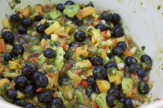 Blueberry Salsa!